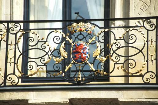 Grand-ducal Palace balcony
