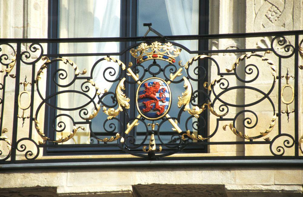Palais Grand-Ducal balcon