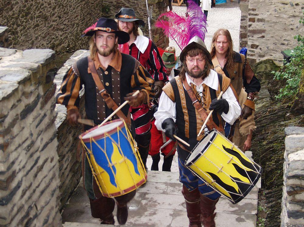 middeleeuwse festival vianden