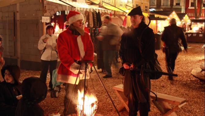 middeleeuwse kerstmarkt dudelange