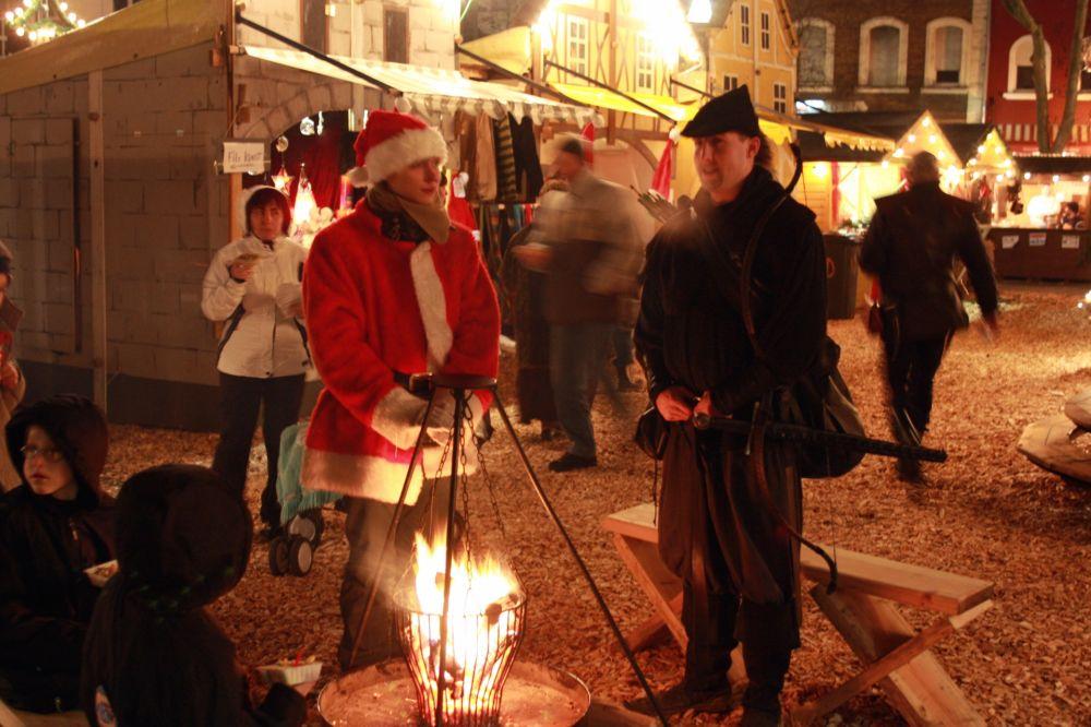 mittelalterlicher weihnachtsmarkt dudelange