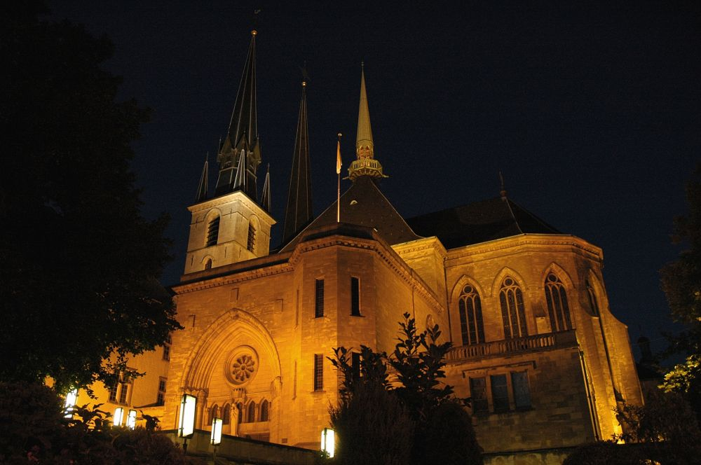 night of the cathedrals luxembourg city