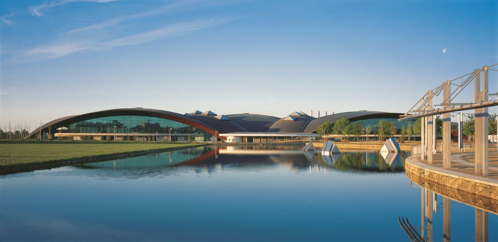 centre national sportif et culturel d coque exterior