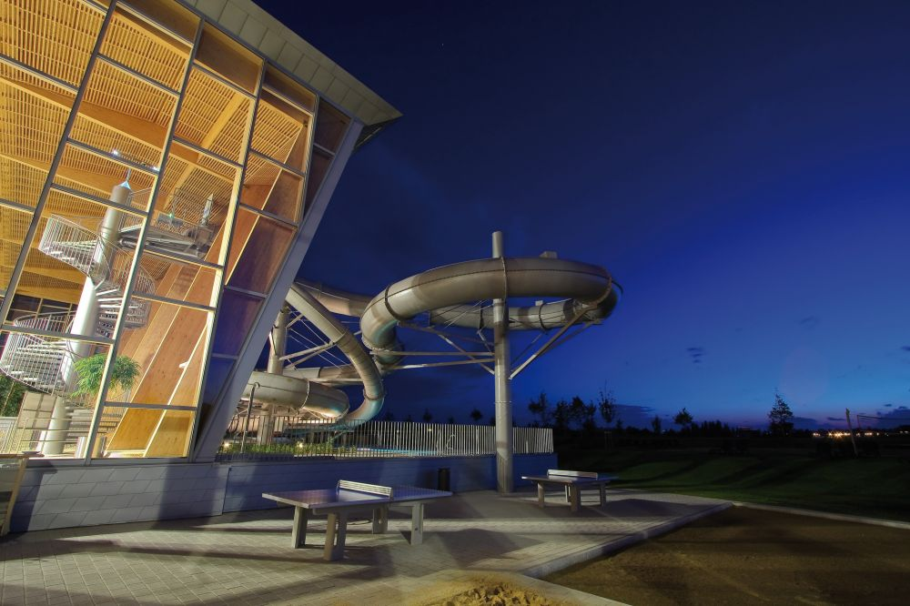 les thermes strassen nocturnal