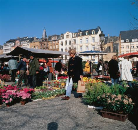 Market in Luxembourg-city