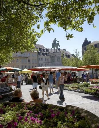 Market in Luxembourg-city 2