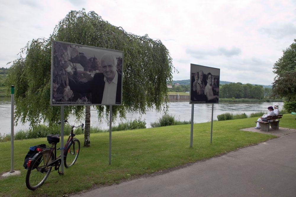 cycle tour romerrunde schengen photo