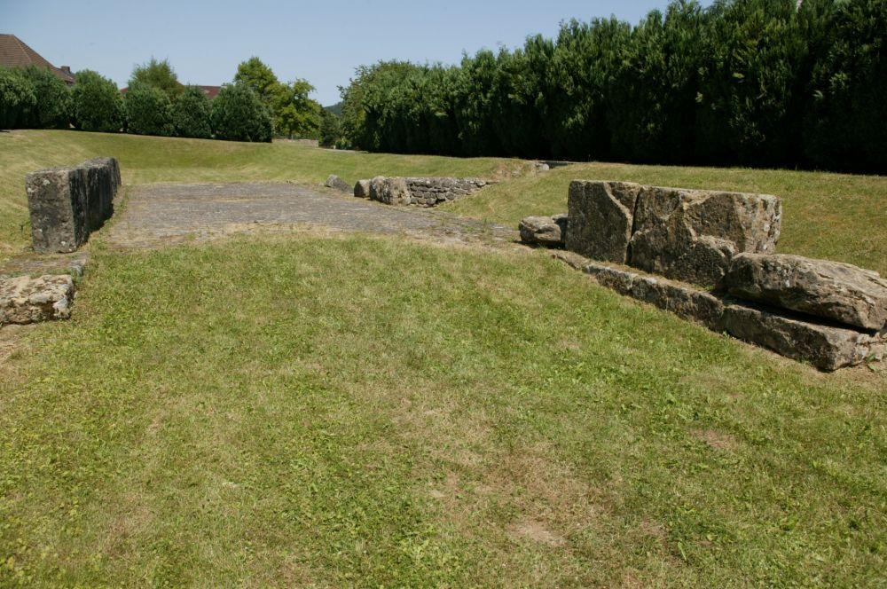 site gallo romain mersch