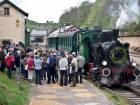 toeristische stoomtrein train 1900 01