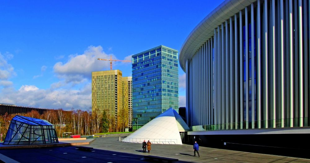 architecture and art in public space kirchberg 12