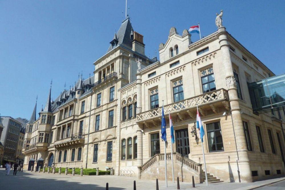 architecture au centre de la ville de luxembourg
