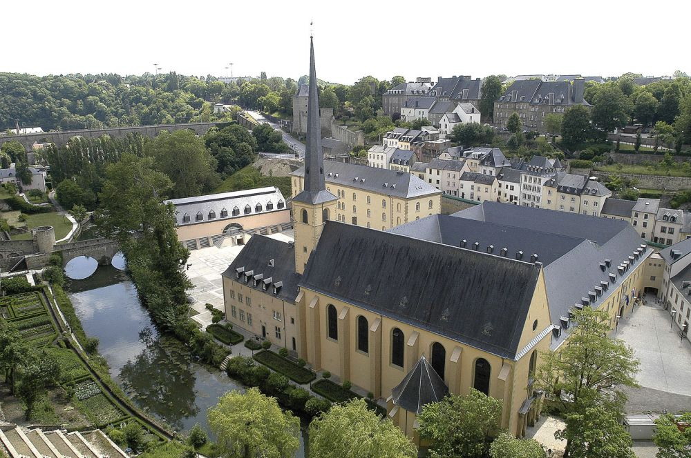 eglise st jean luxembourg ville