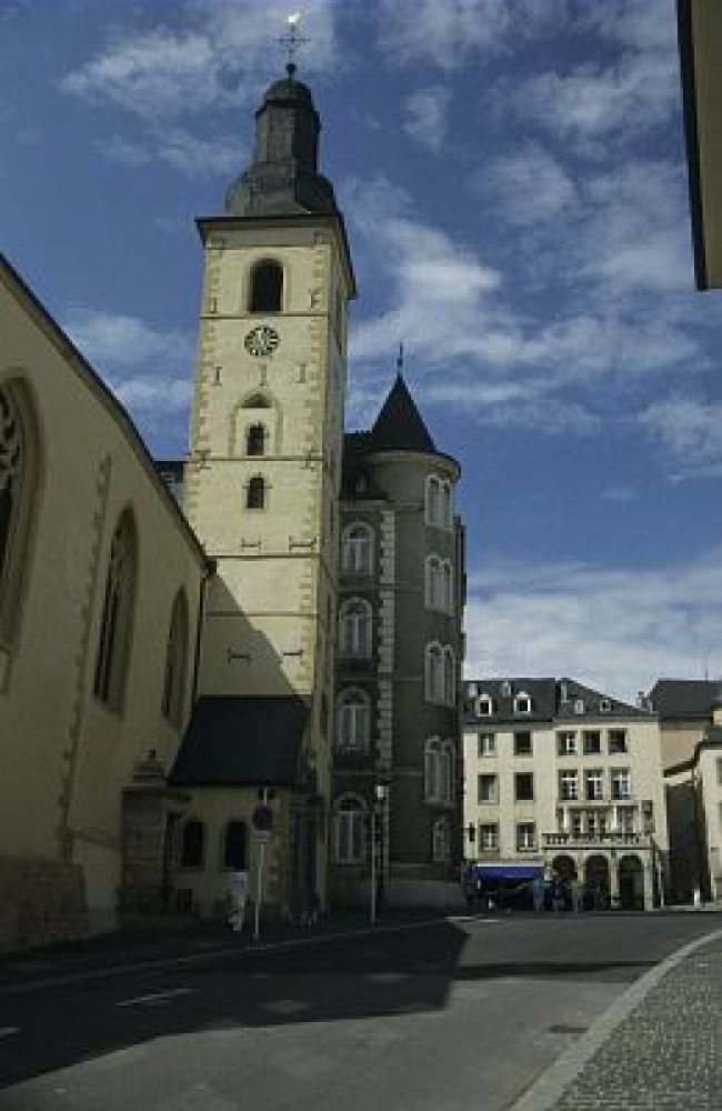st michael church luxembourg city