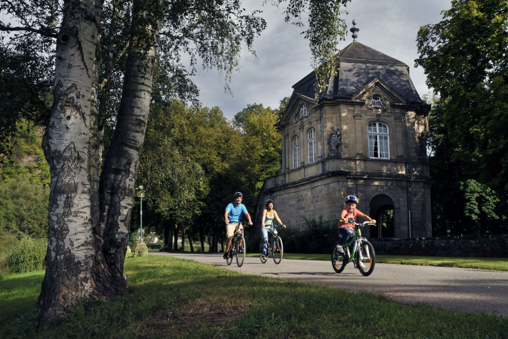 cycle tour from station to station echternach