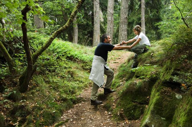 sentier pedestre en etapes petite suisse mersch photo 1