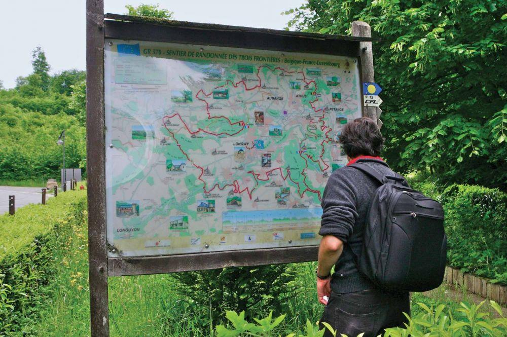 etappenwanderweg schengen hellange foto 1