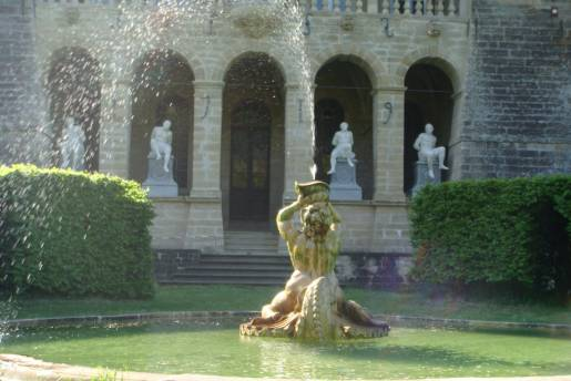 Fountain Ansembourg Castle