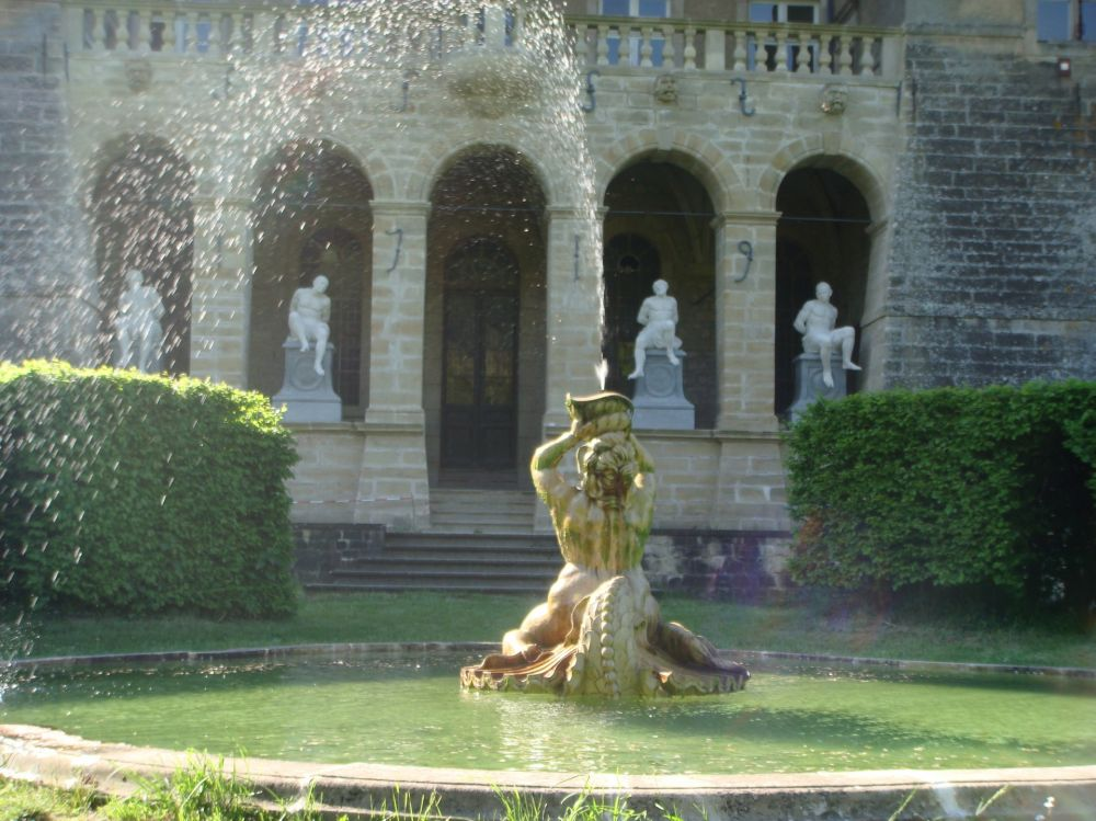 Fountain Ansembourg Castle