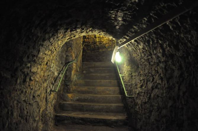 Petrusse casemates stairs