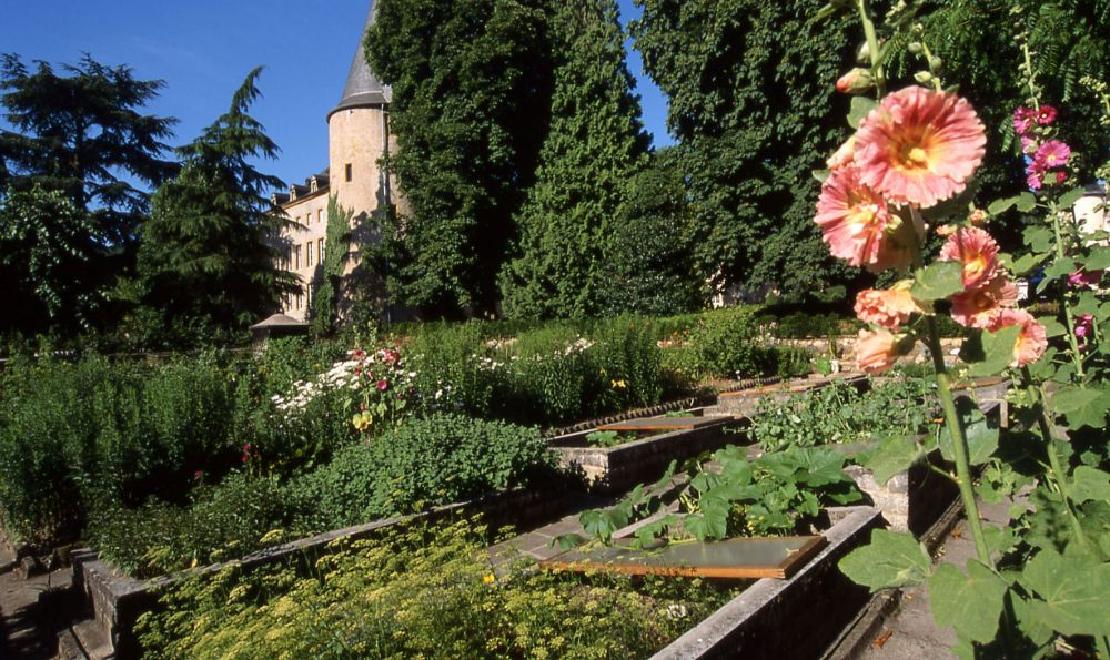 Jardin Chateau de Schengen