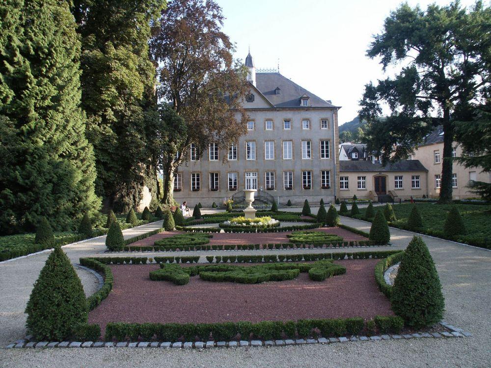 Entree Chateau de Schengen