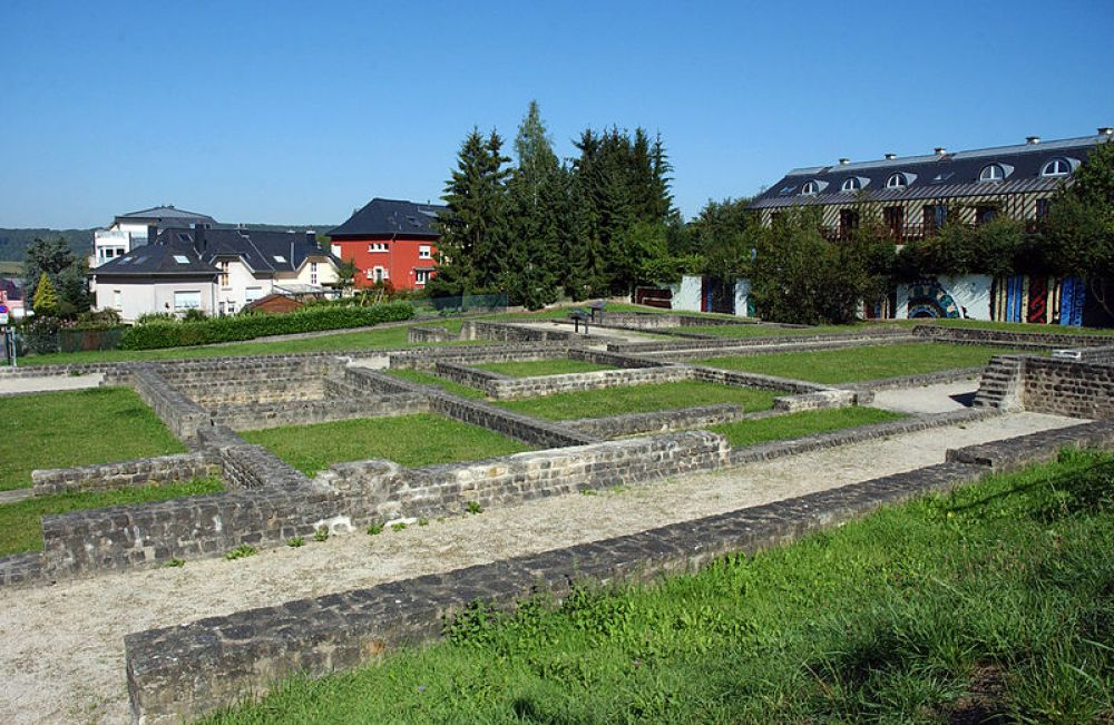 gallo roman site helmsange